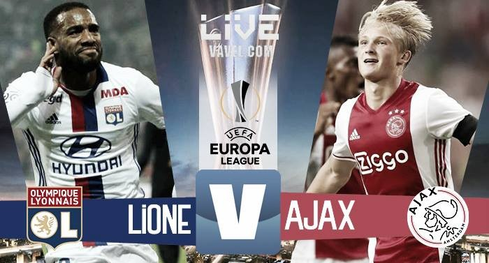 Lione - Ajax in Europa League 2016/17 (3-1): Ghezzal, si riapre tutto!