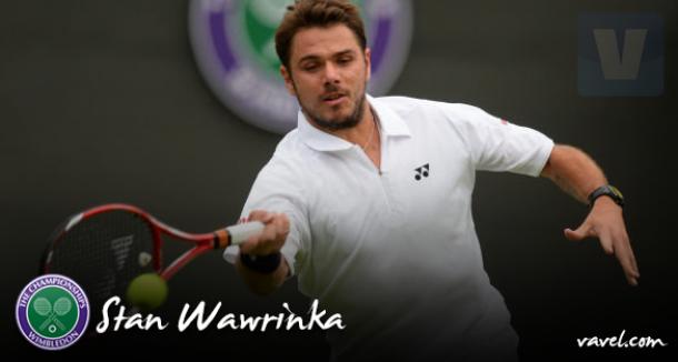 Wimbledon 2015: Stan Wawrinka, o campeão de Roland Garros em ação na grama
