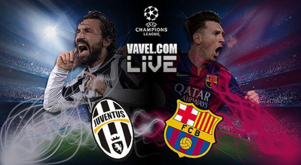 Resultado Juventus x Barcelona na Liga dos Campeões 2015 (1-3)