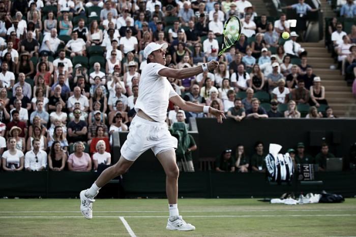 Wimbledon: Sam Querrey wins five-set marathon over two days to reach the second week