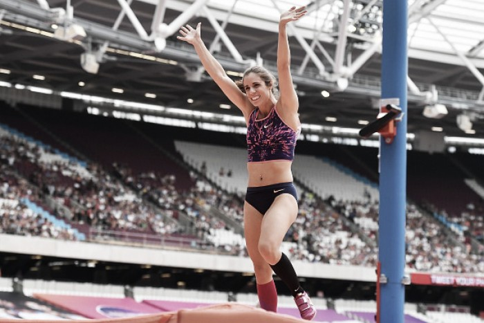 Greece's Stefanidi wins women's pole vault title at Worlds