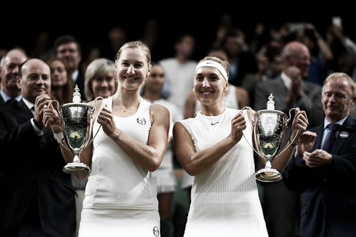 Wimbledon: Makarova/Vesnina race to win first Wimbledon crown