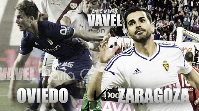 Previa Real Oviedo - Real Zaragoza: sin margen para el despiste