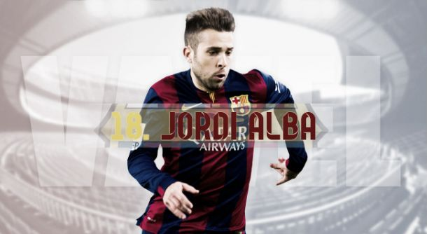 FC Barcelona 2014/15: Jordi Alba