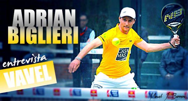 """Entrevista. Adrián Biglieri: """"Soy un jugador claramente ofensivo"""""""