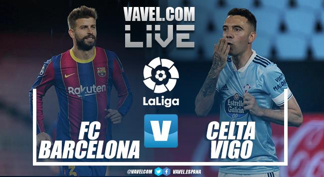 Resumen del FC Barcelona vs Celta de Vigo (1-2)