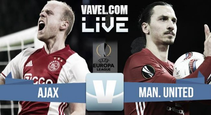 Ajax vs Manchester United Live Stream Score and Europa League Final Result 2017 (0-1)