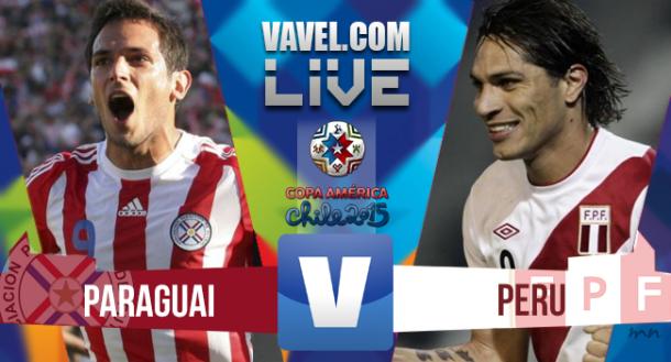 Resultado Perú - Paraguay Copa América 2015(0-2)