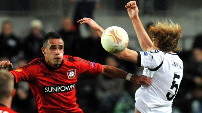 El Metalist se pone líder del Grupo K mientras Kiessling salva al Leverkusen