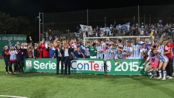 Play-off Serie B, il Pescara è in Serie A: 1-1 a Trapani