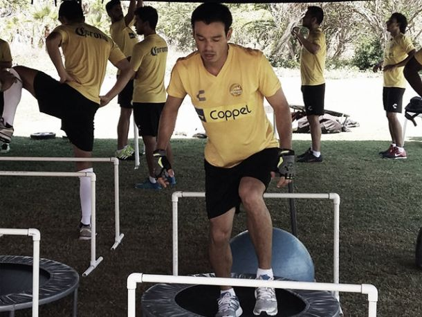 Carlos Pinto, ilusionado con volver a primera