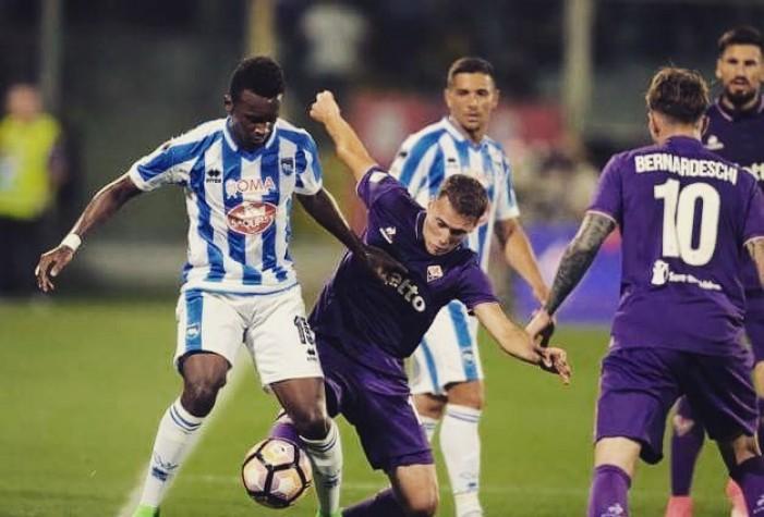 Serie A - Fiorentina e Pescara si dividono la posta in palio: 2-2 al Franchi