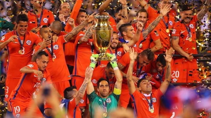 Le Chili remporte le Centenario !