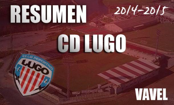 Resumen temporada 2014/2015 del CD Lugo: plácida temporada con protagonismo final