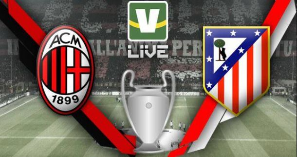 Milan x Atlético de Madrid, Uefa Champions League ao vivo online