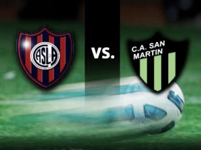 San Lorenzo vs San Martín de San Juan EN VIVO ahora en el Campeonato Argentino 2016 (0-0)