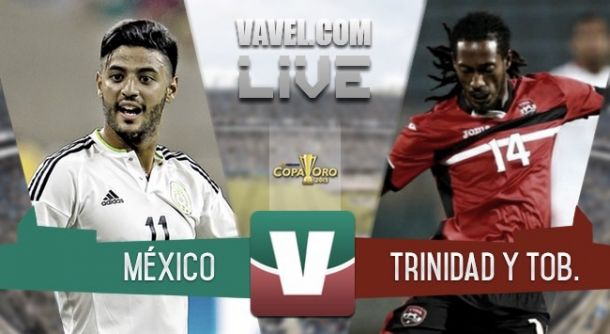 Resultado México - Trinidad y Tobago en Copa Oro (4-4)