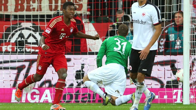 Eintracht Frankfurt - Bayern de Munique: Apetite de campeão