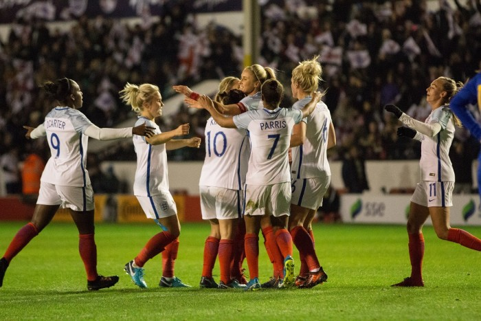 World Cup 2019 qualifier – England 4-0 Bosnia and Herzegovina: Houghton at the double for the Lionesses