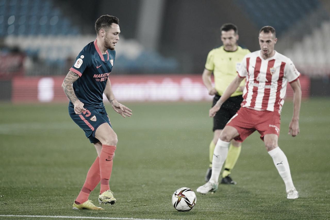 Ocampos manda al Sevilla directo a semis