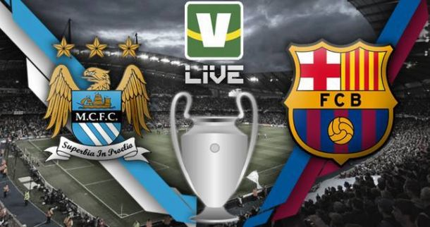 Manchester City x Barcelona, Uefa Champions League ao vivo online