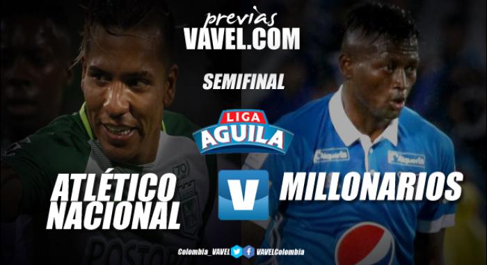Previa Atlético Nacional Vs Millonarios: 'David' contra 'Goliat'