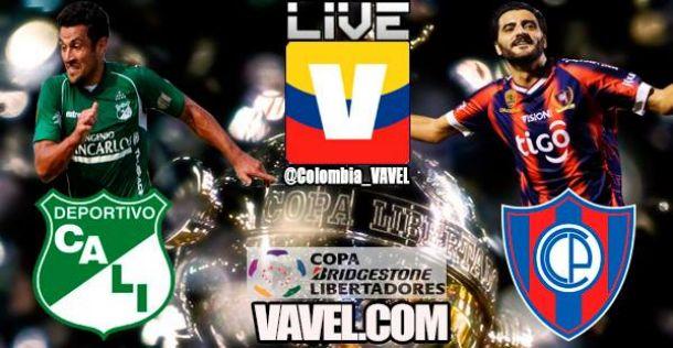Resultado Cali vs Cerro Porteño en la Copa Libertadores 2014 (1-0)