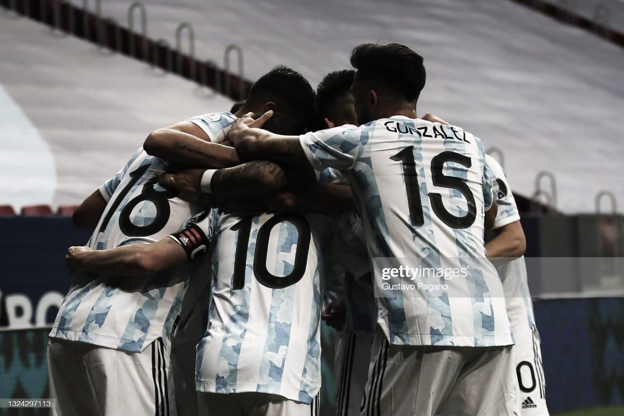 Argentina y una victoria que vale oro