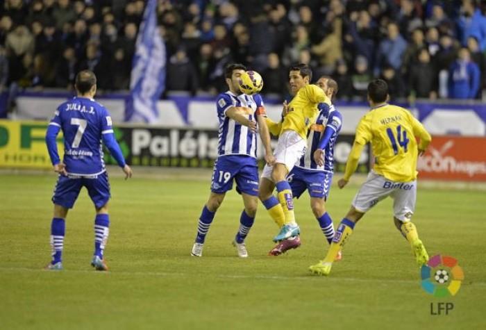 Resumen Alavés 2-0 UD Las Palmas en La Liga 2017
