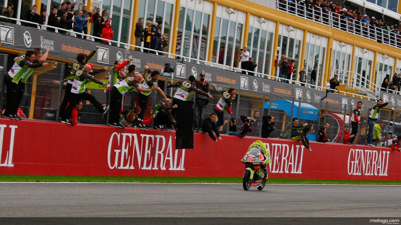Nico Terol, último campeón de 125 cc