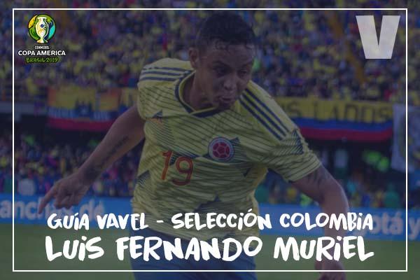 Guía VAVEL, cafeteros en la Copa América 2019: Luis Fernando Muriel