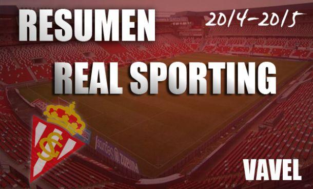 Resumen temporada 2014/2015 del Real Sporting de Gijón: una cantera de Primera