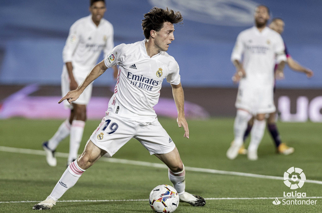Re-debut notable de Álvaro Odriozola