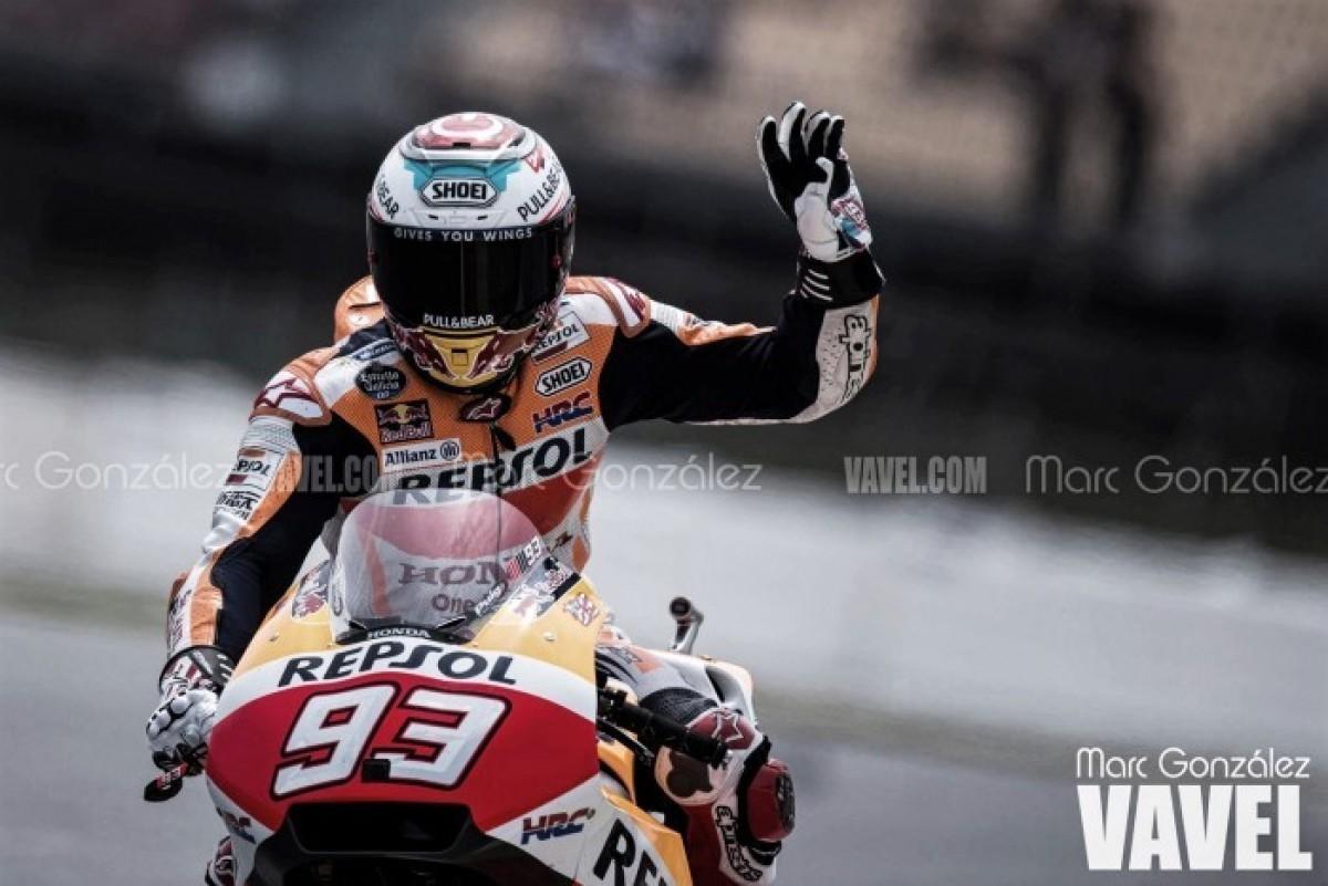 MotoGP, Assen: super pole di Marquez, Rossi terzo