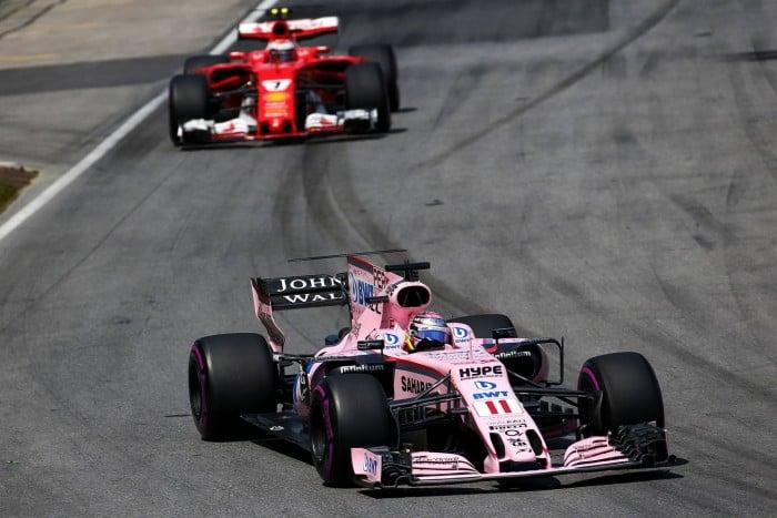La Force India sta considerando l'idea di cambiare nome
