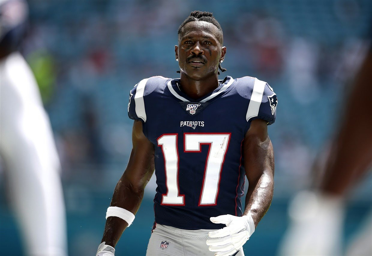 New England Patriots release Antonio Brown