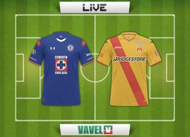 Resultado Cruz Azul - Monarcas Morelia en la Liga MX (3-1)
