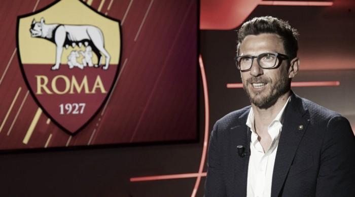 """Roma, Di Francesco: """"Ottima prova col Tottenham, vedremo come muoverci sul mercato"""""""