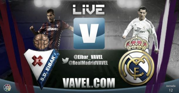 Live Liga BBVA : le match Eibar - Real Madrid en direct