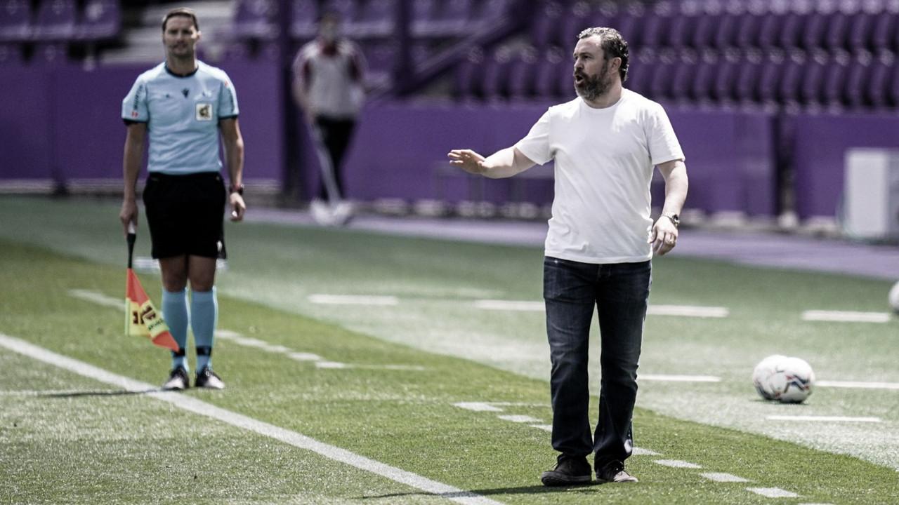 """Sergio González: """"Me voy cabreado por los primeros minutos de la segunda parte"""""""
