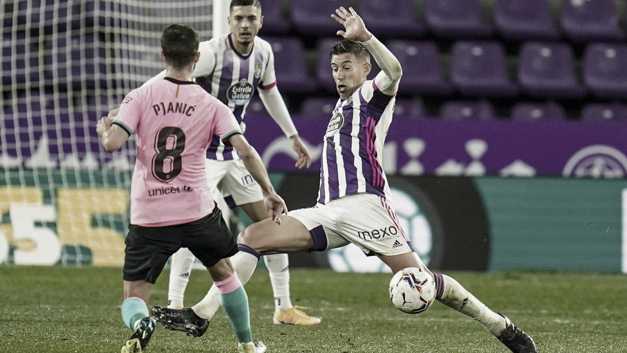 El Real Valladolid al Camp Nou con 12 bajas y 6 futbolistas del Promesas