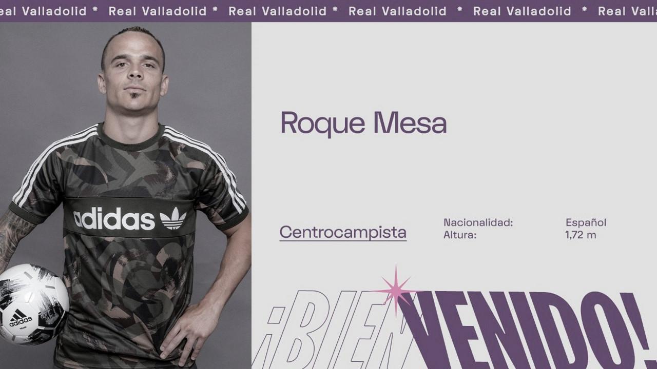 Roque Mesa nuevo jugador del Real Valladolid