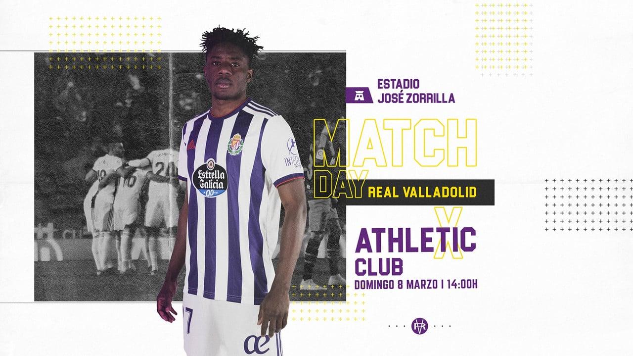 Previa Real Valladolid - Athletic Club de Bilbao: Tres puntos muy importantes