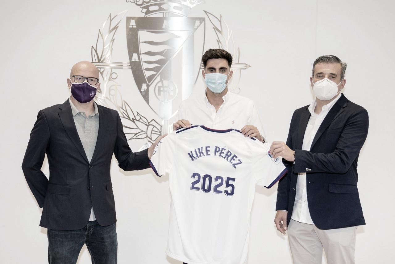 """Kike Pérez, renovación en forma de """"fichaje"""""""