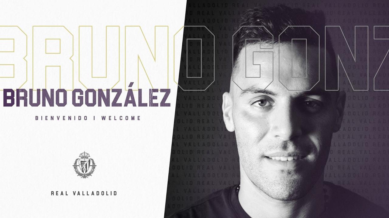 Bruno González es el quinto fichaje del Real Valladolid
