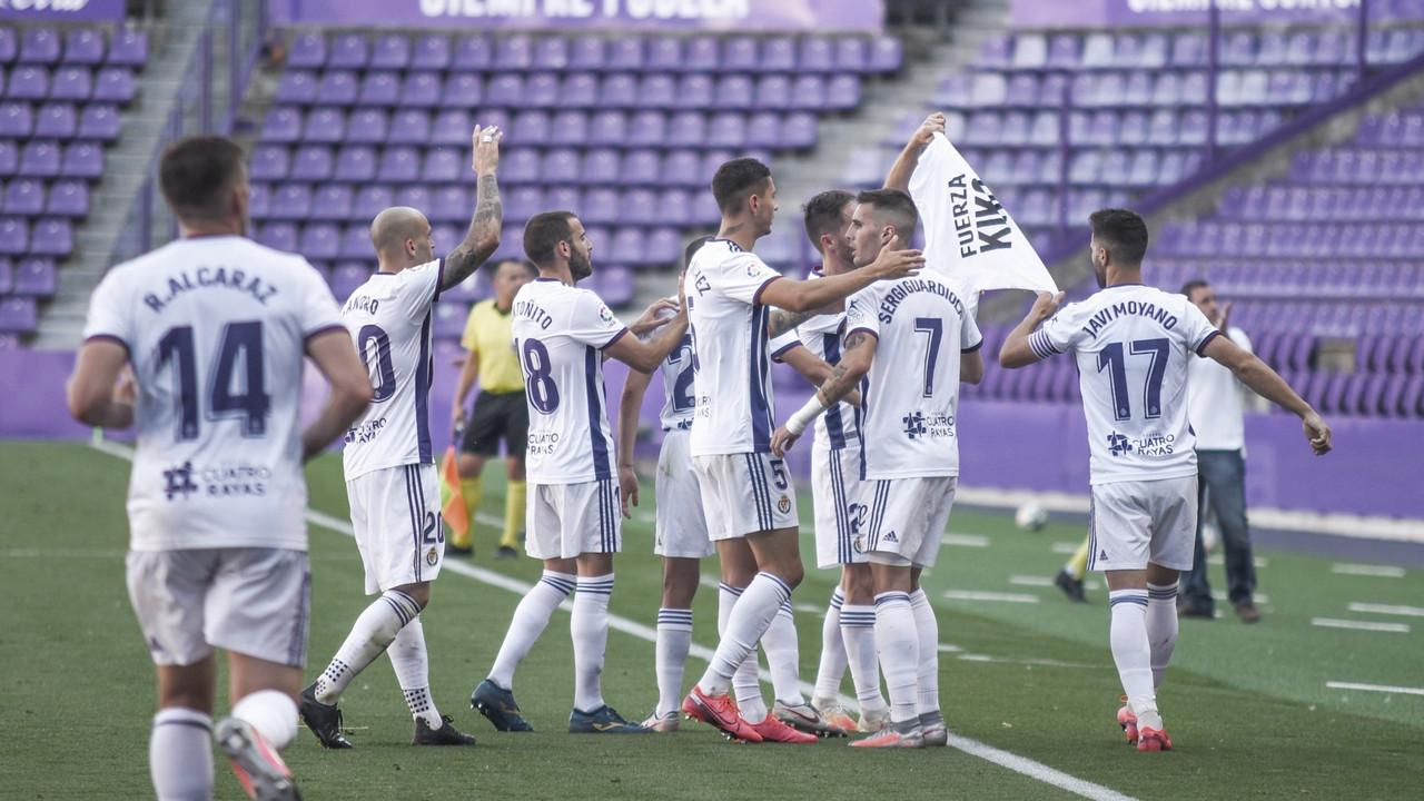 El Real Valladolid acaba la temporada con victoria en Zorrilla