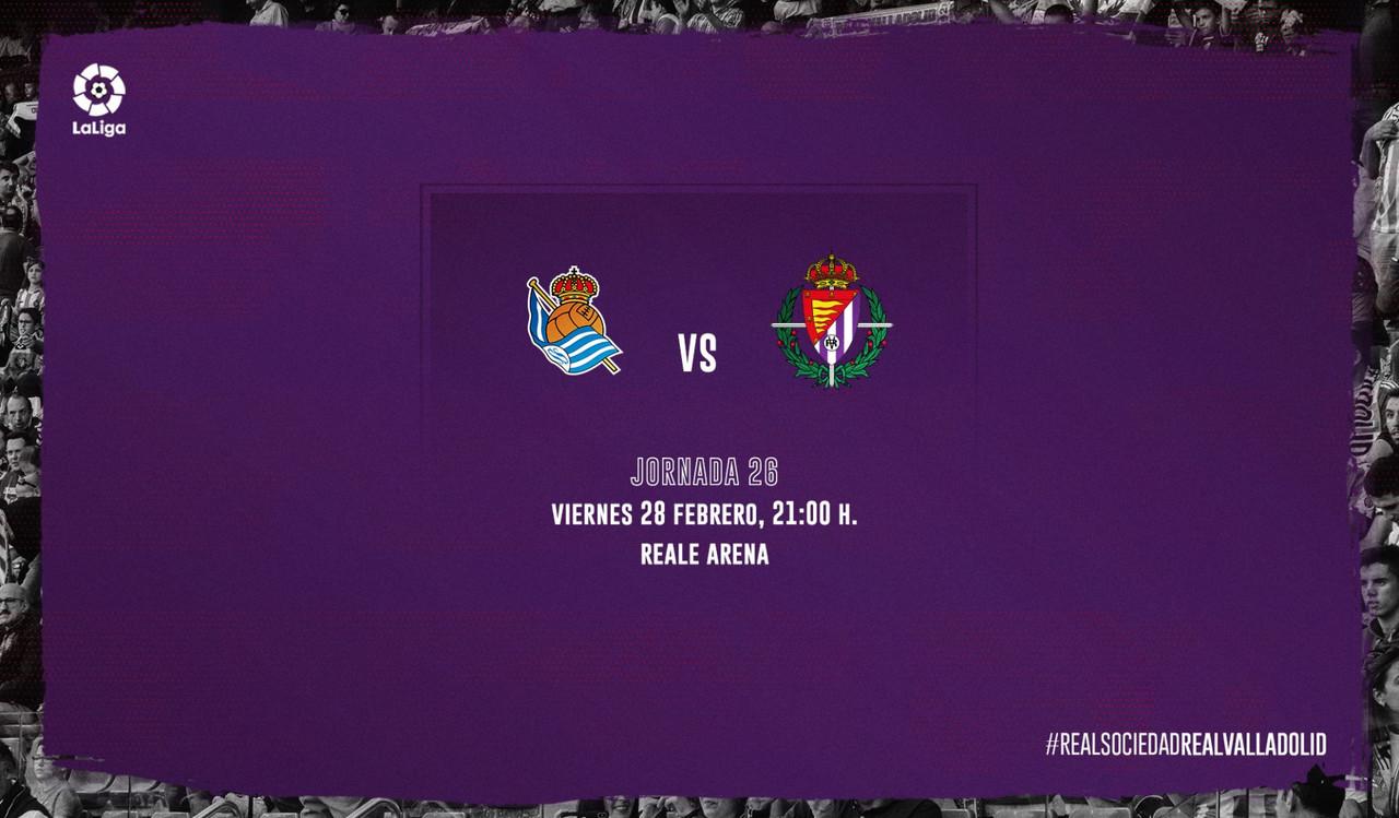 Previa Real Sociedad - Real Valladolid: seguir la racha