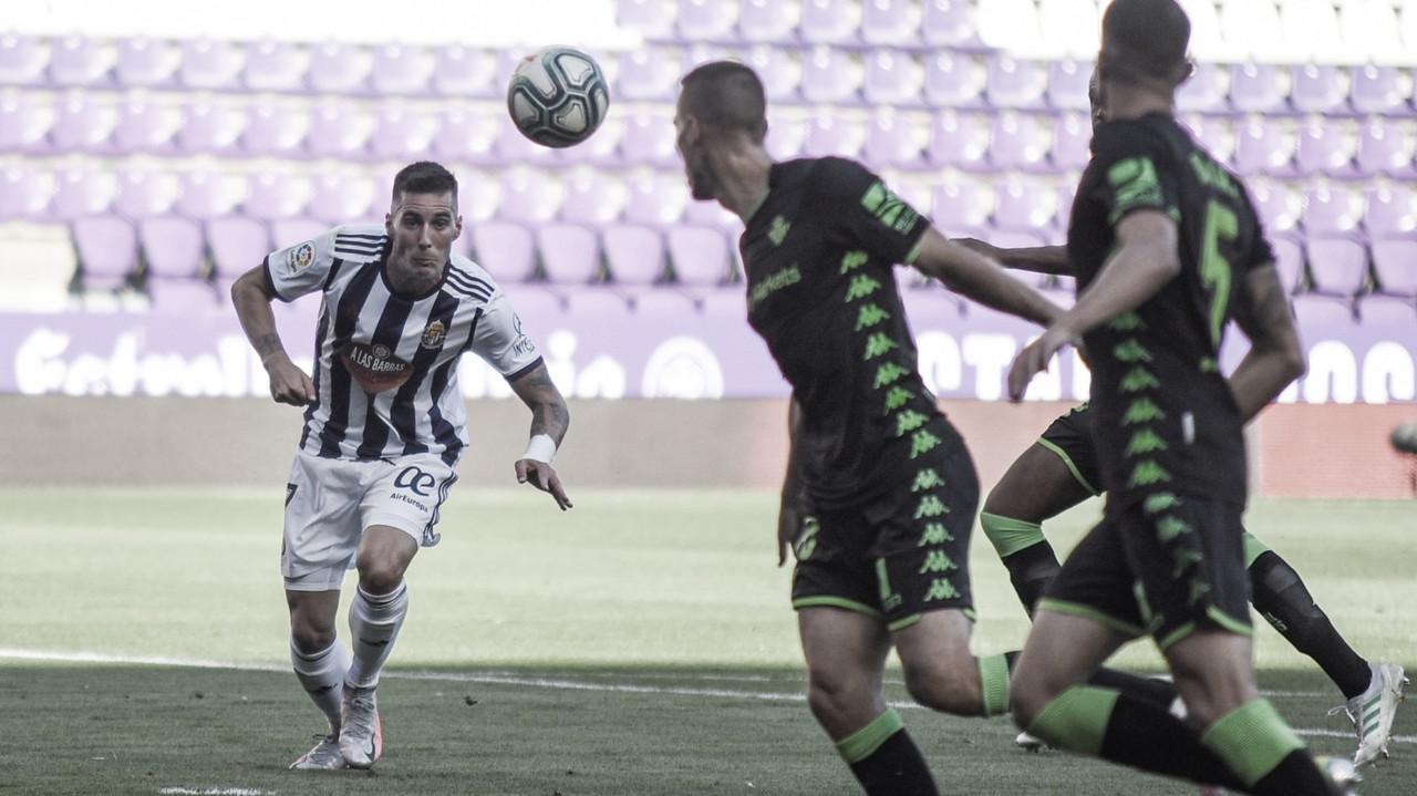 El Real Valladolid supera en triunfos al Betis en el José Zorrilla