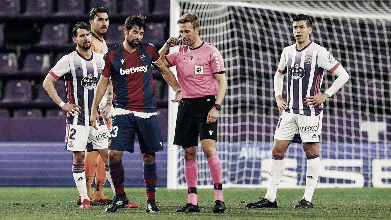 Pizarro Gómez dirigirá el Real Valladolid - Real Betis