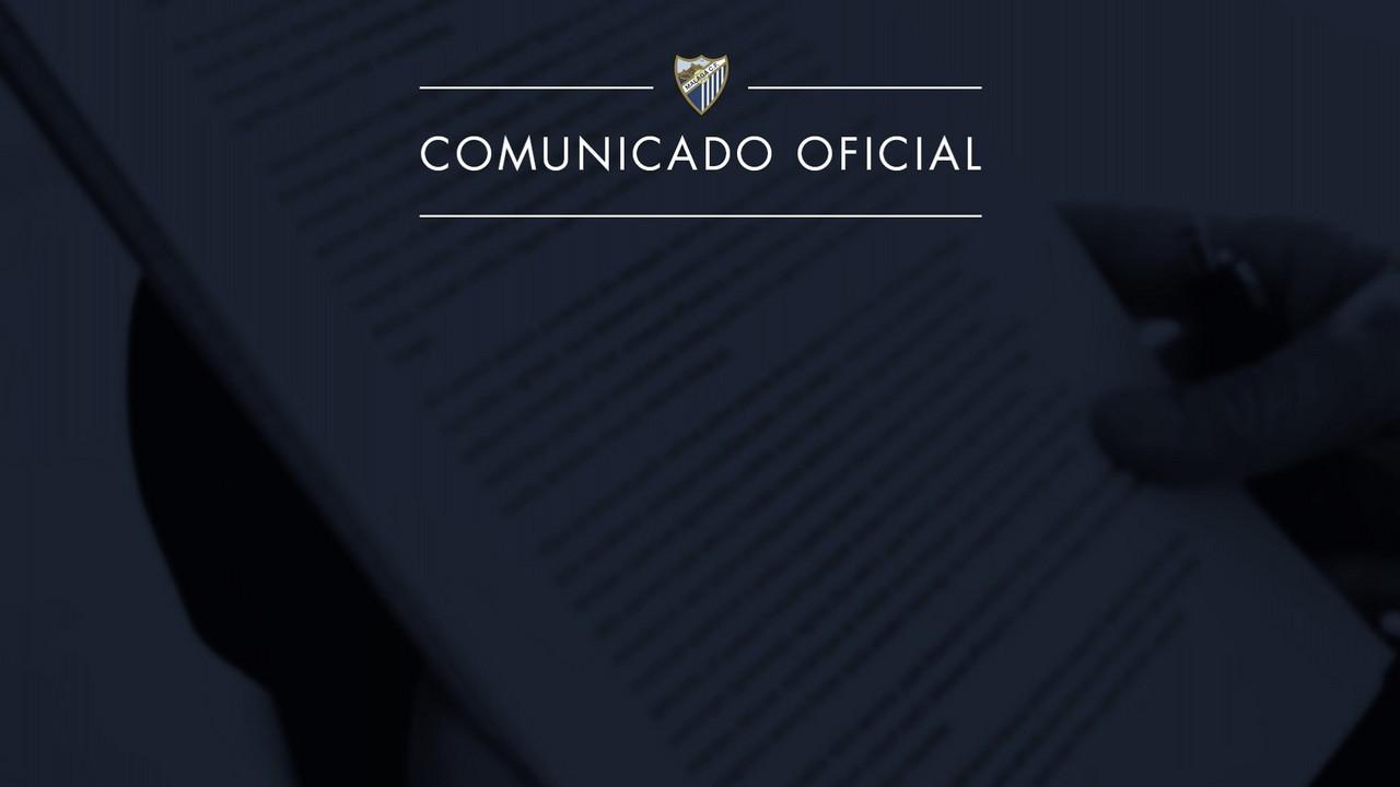 El Málaga CF comunica un ERE